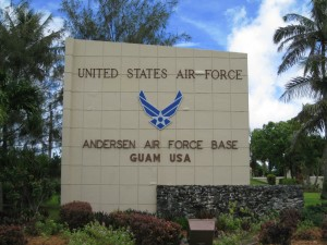 Andersen Air Force Base Runway