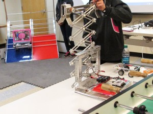 Local Robotics Team Visits Braun Intertec