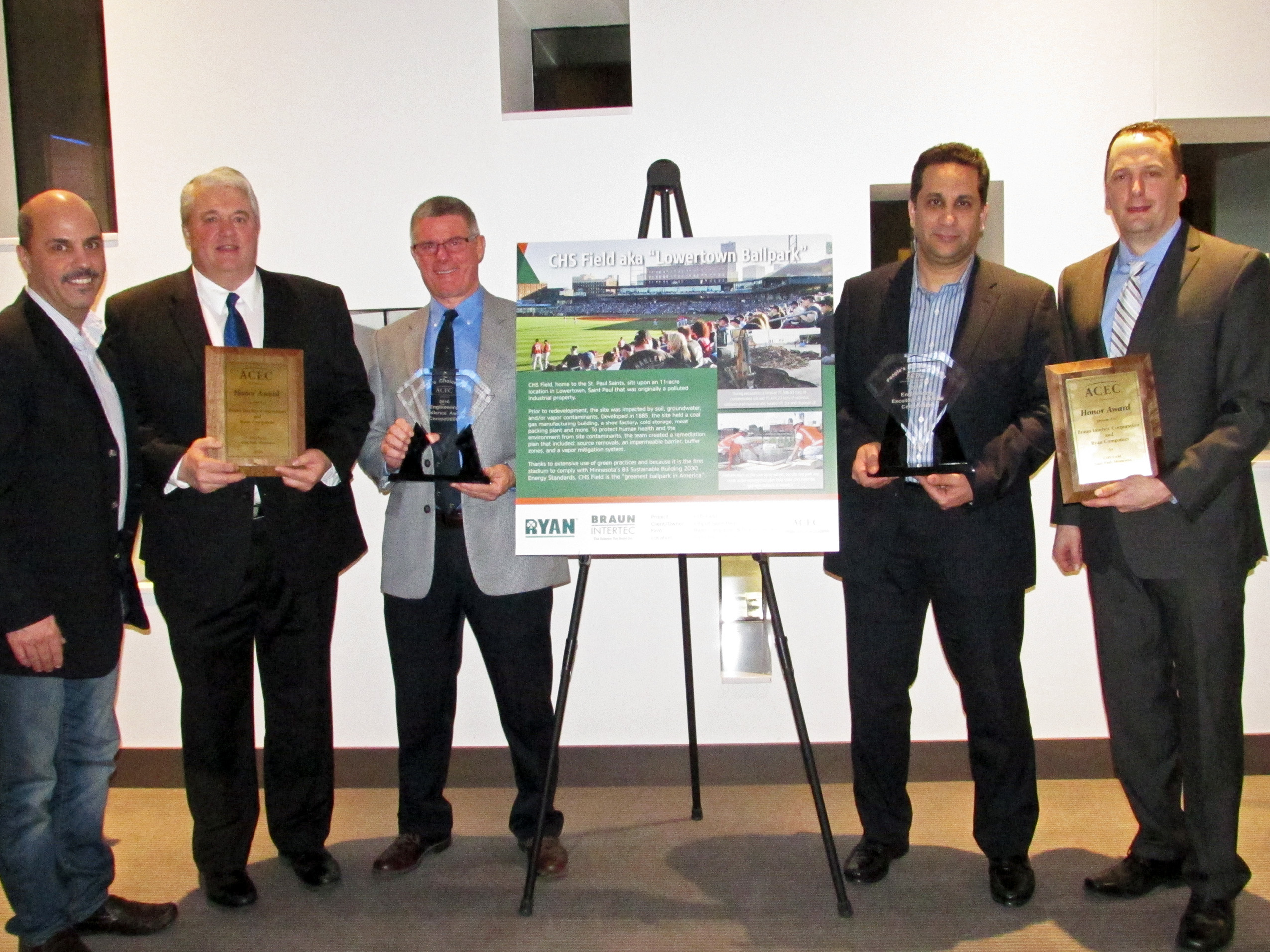 2016 Engineering Excellence Awards: Braun Intertec Project Winners
