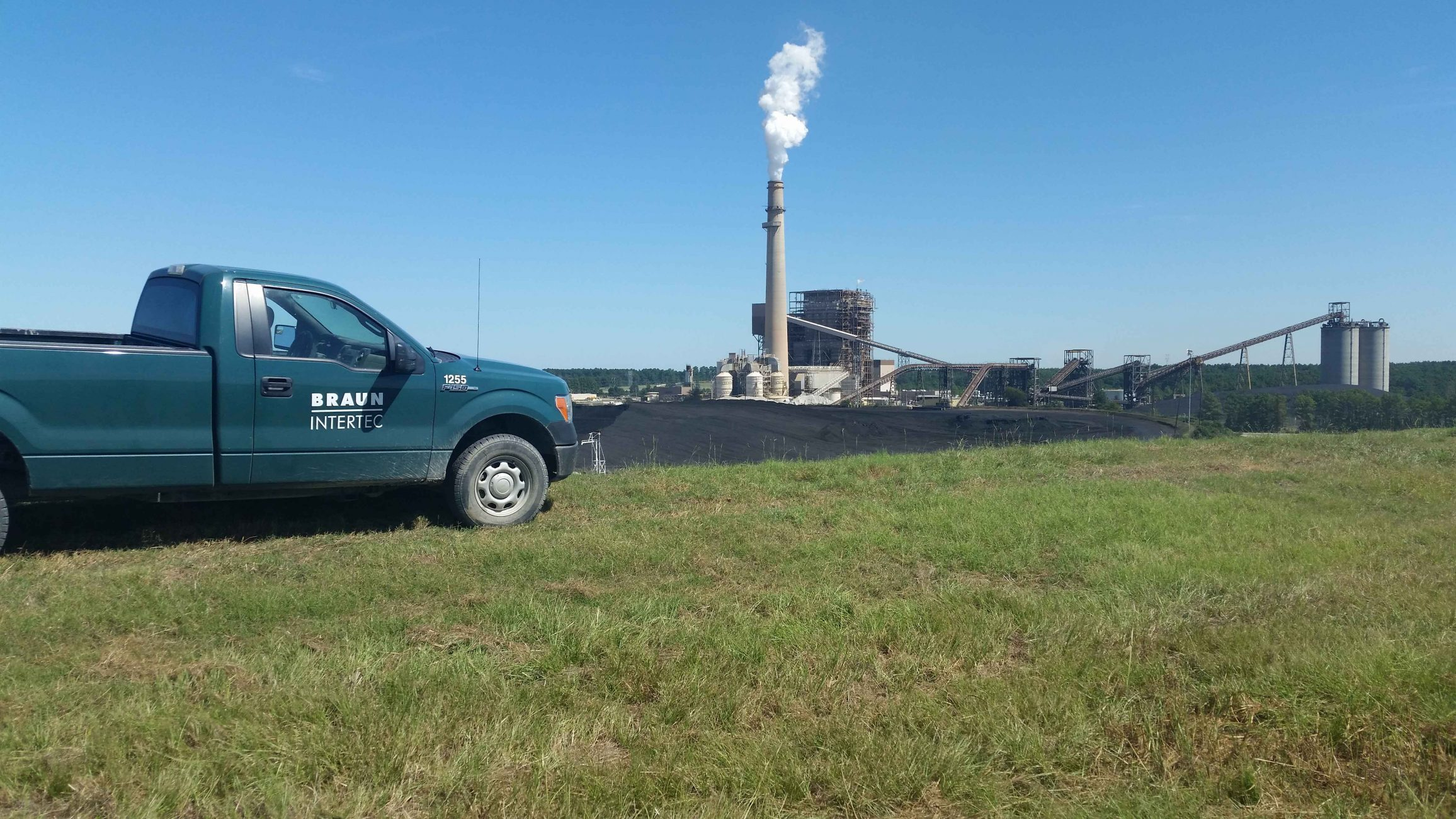 Braun Intertec Truck At Texas Job Site