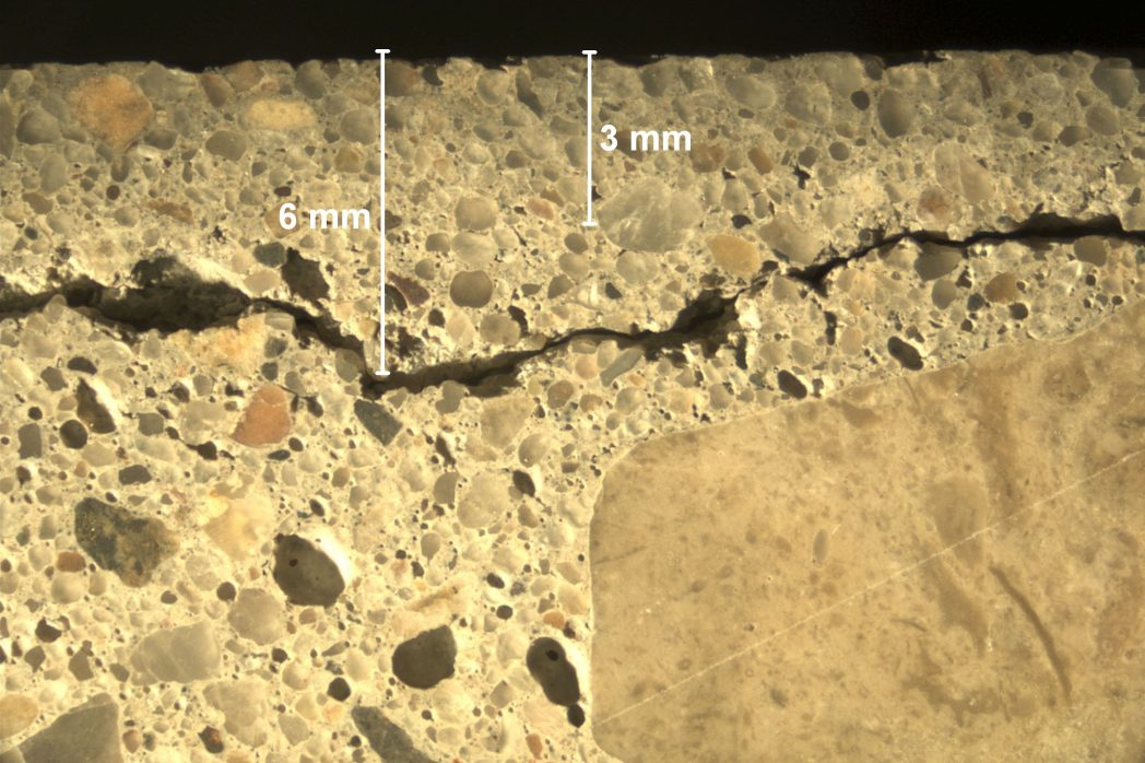 concrete petrography