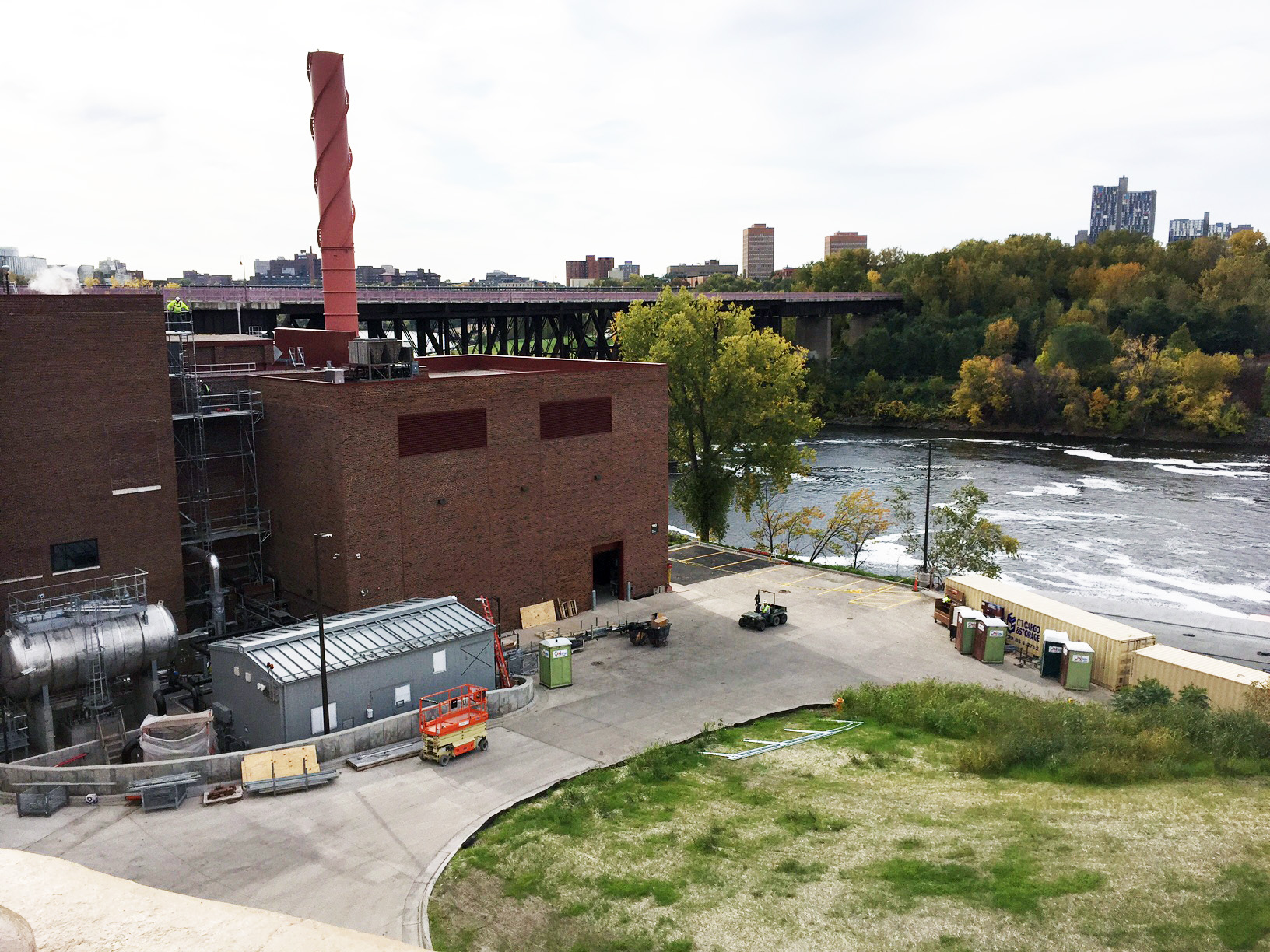 University of Minnesota combined heat and power plant
