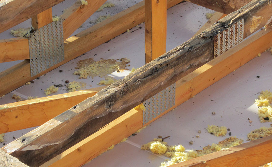 Rotting Roof Mitigation and Code Requirements