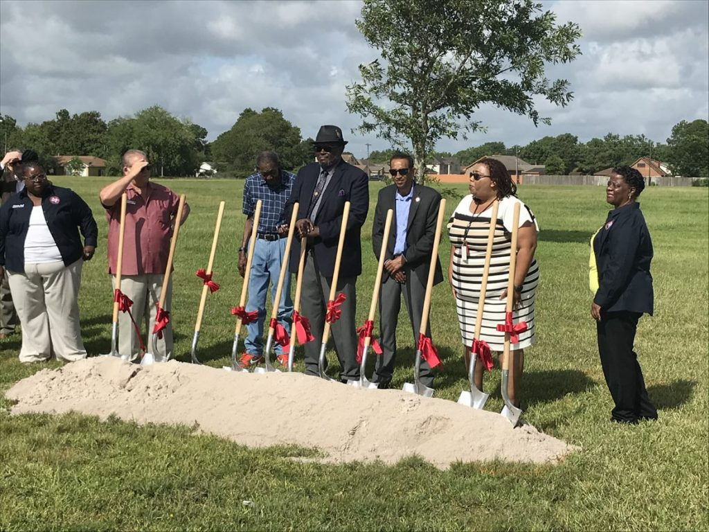 Texas ISD Groundbreaking - shovels