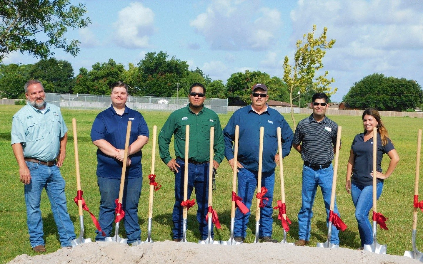 Texas City ISD groundbreaking ceremony