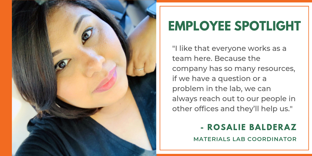 Rosalie Balderaz Materials Lab Coordinator