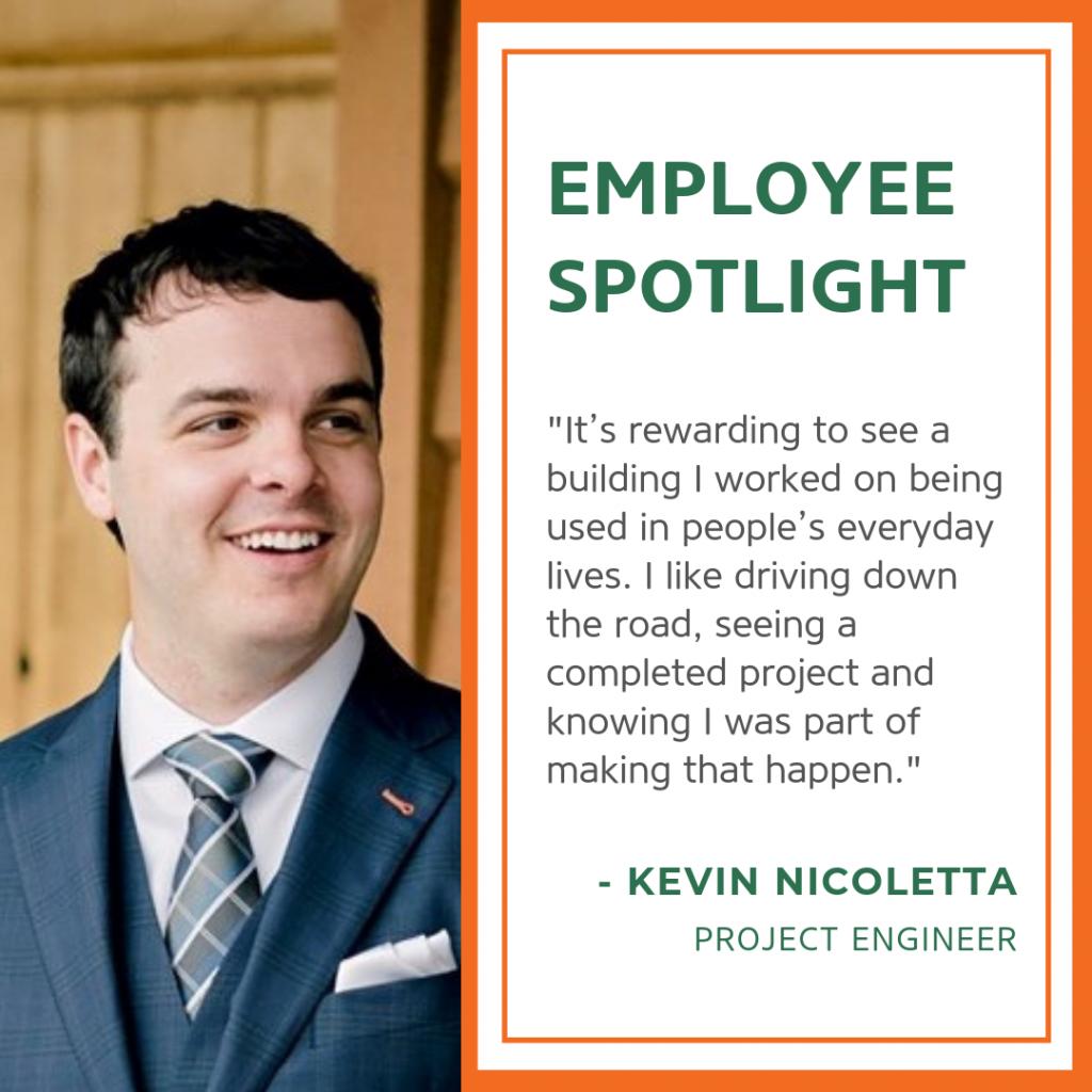 Kevin Nicoletta Project Engineer
