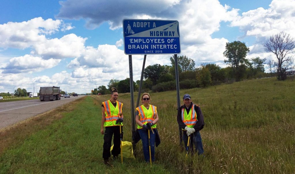 Adopt a Highway Volunteering