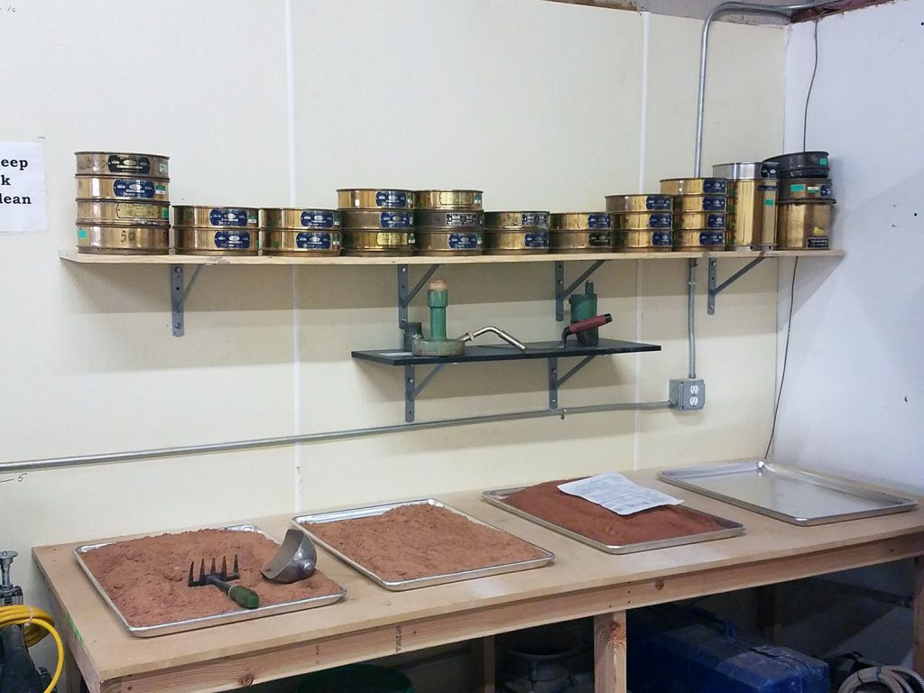 Wichita Falls materials and CMT Lab