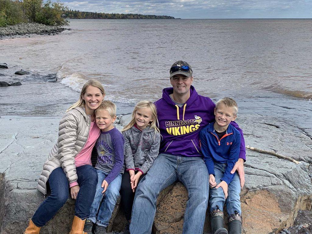 Nate McKinney family